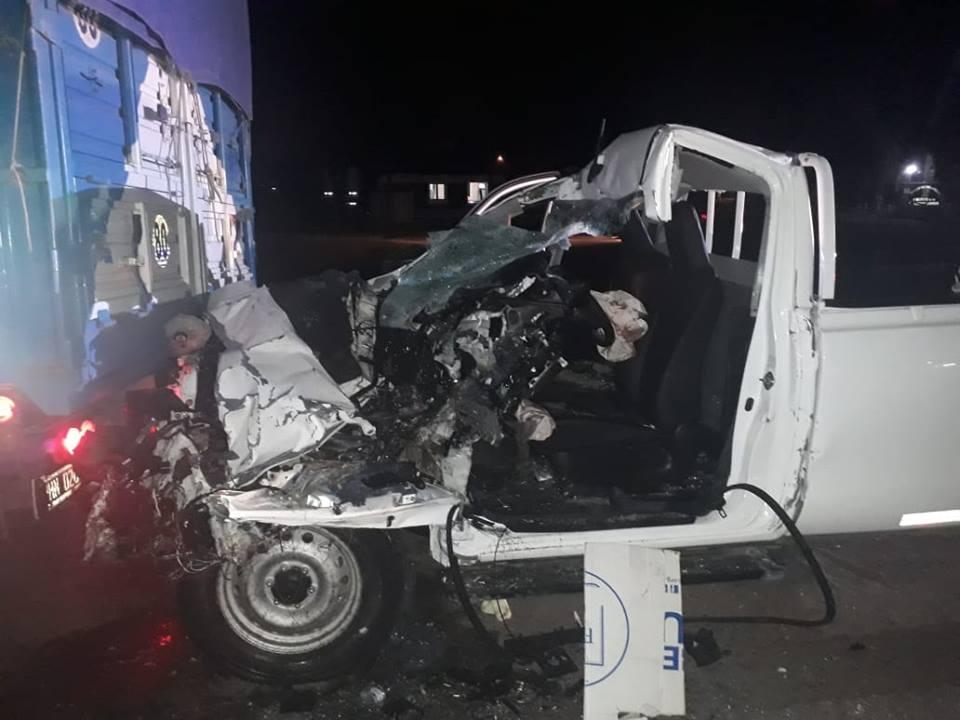 Accidente en Ruta 5