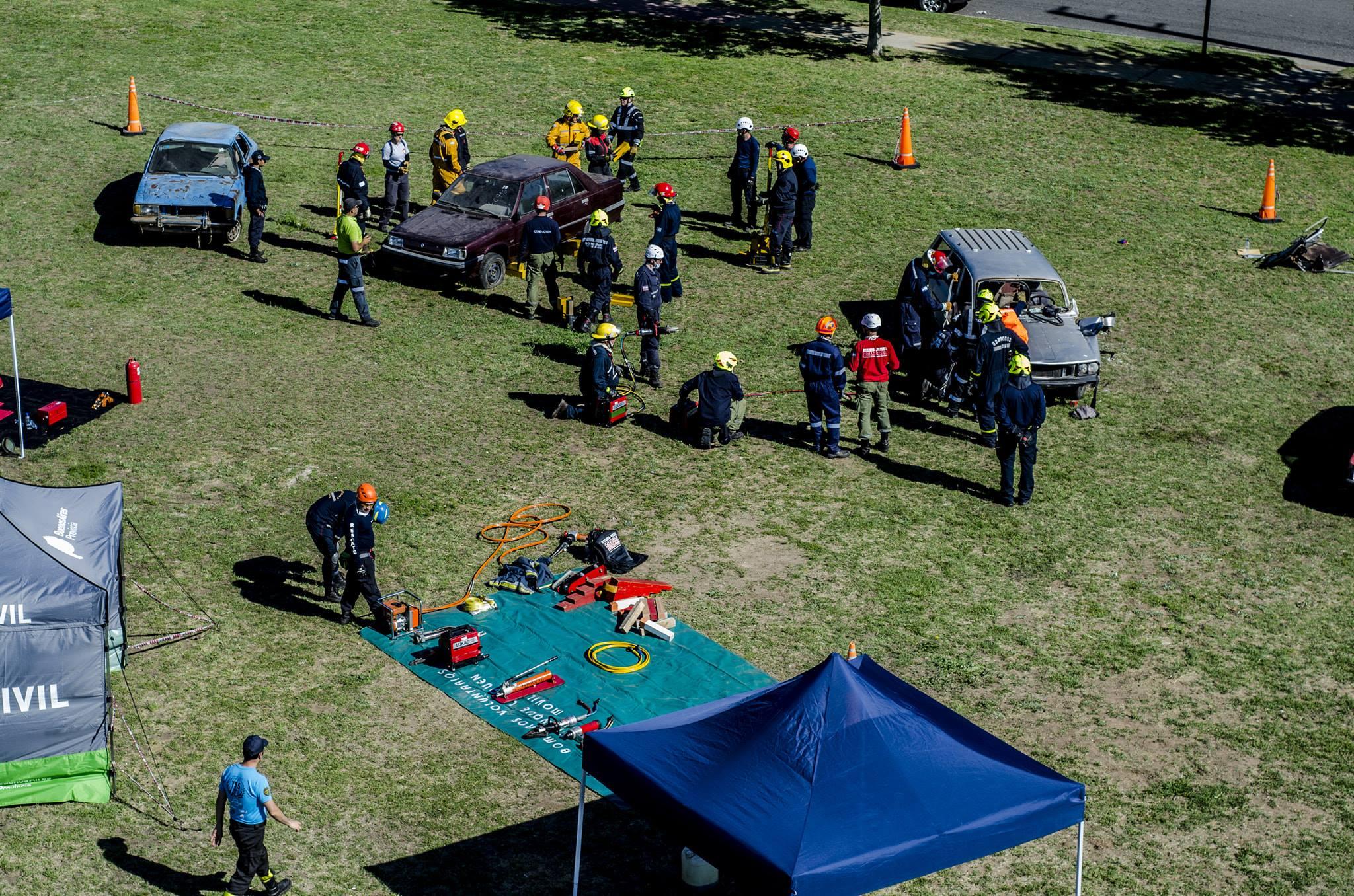 Curso de Rescate Vehicular 2018