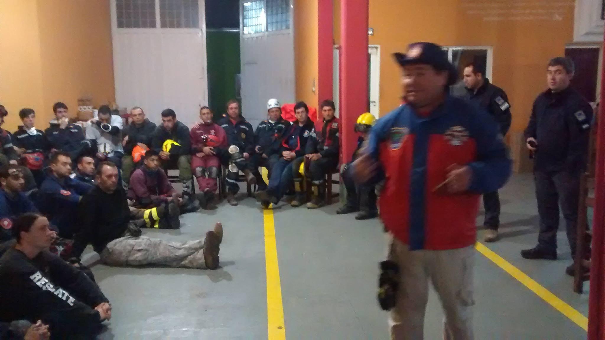 Elegidos para desarrollar una Escuela de Rescate General con Cuerdas