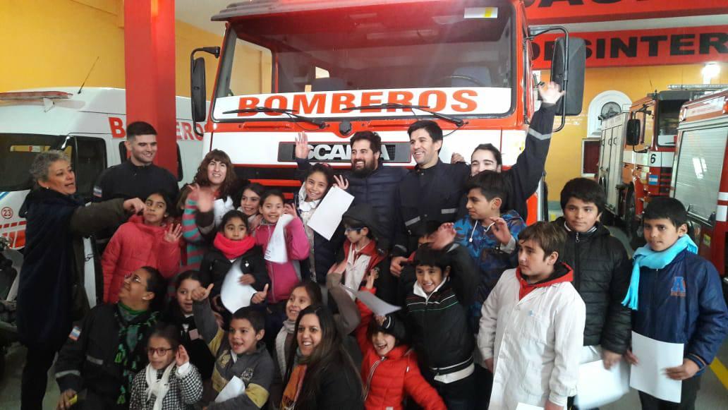 Nos visitaron niños de Escuelas Rurales