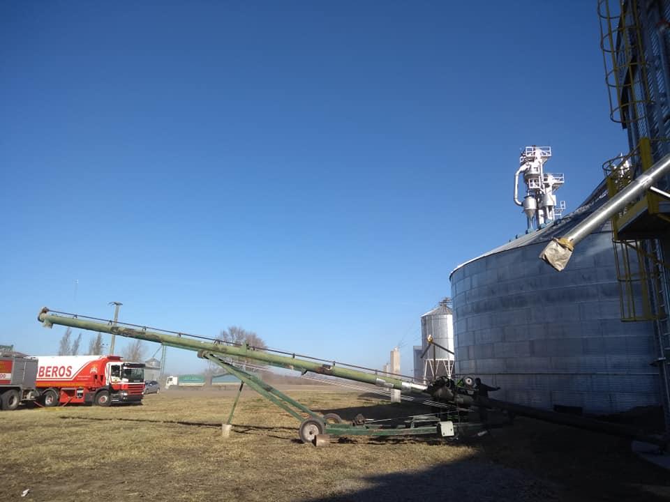 Intensa actividad en Planta de silos