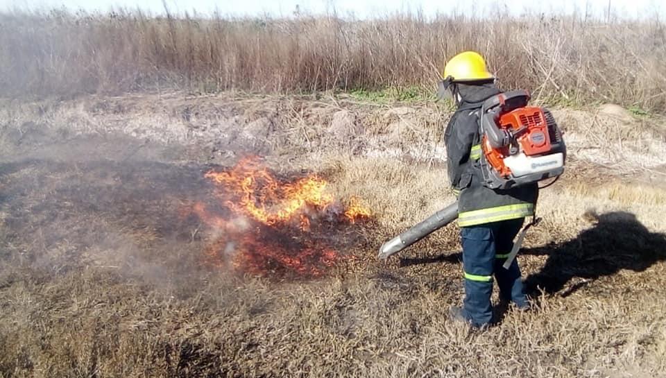 Práctica de Incendios forestales