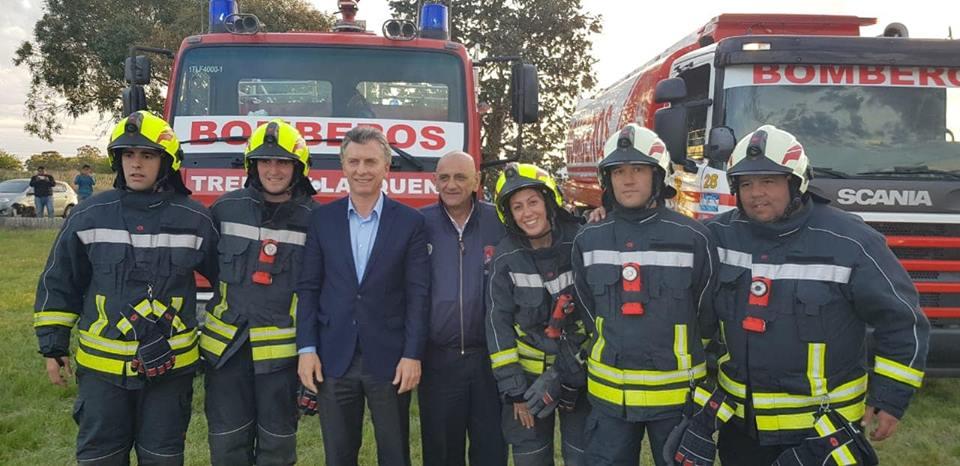 Visita del Presidente Macri y la Gobernadora Vidal