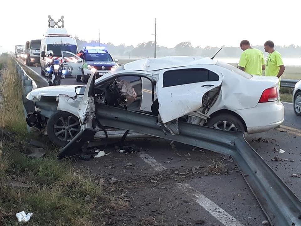 Incidente Vehicular en RN5 km 454