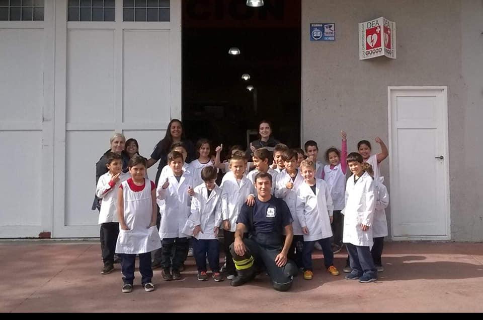 Nos visitaron chicos de la Escuela Primaria Nº 8