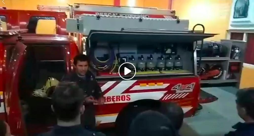 Presentación del móvil 30 Unidad de Rescates Avanzados