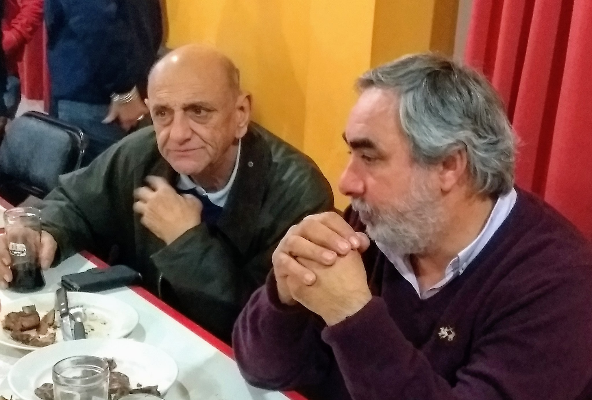 Cena agasajo del Intendente Fernández