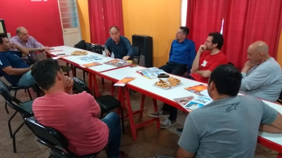 Reunión con representantes de Durlock Argentina