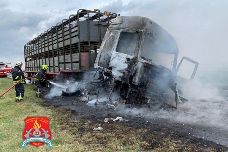 Trágico accidente en Ruta Nacional 33