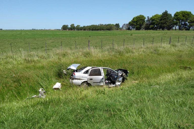 Trágico accidente vial en Ruta Nacional 5