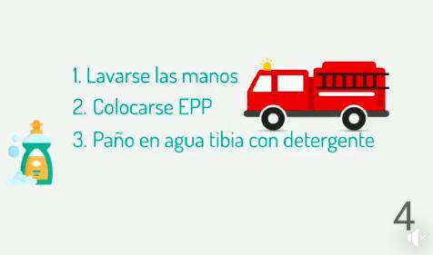 COVID-19. Mas consejos para nuestros bomberos y la comunidad